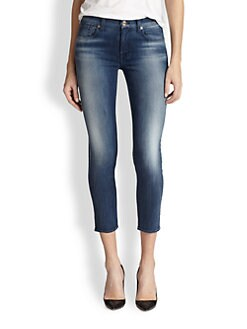 7 For All Mankind - Kimmie Cropped Skinny Jeans