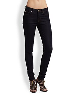Hudson - Nico Mid Rise Skinny Jeans
