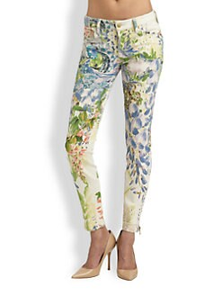 Genetic Denim - The James Floral Skinny Jeans