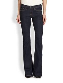 rag & bone/JEAN - High-Rise Bell-Bottom Jeans