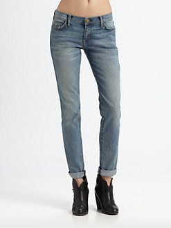 Current/Elliott - The Rolled Skinny Jeans