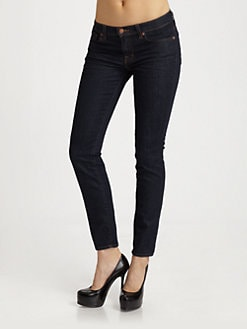 J Brand - Mid-Rise Skinny Jeans