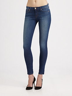 J Brand - Karma Mid-Rise Skinny Jeans