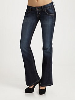 Hudson - Petite Signature Bootcut Jeans