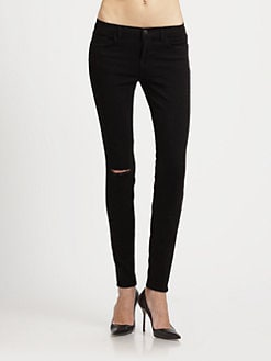 J Brand - Shadow Distressed Skinny Jeans