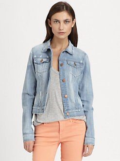 J Brand - Haven Destructed Jean Jacket