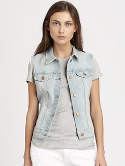 J Brand - Faith Denim Vest