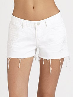 J Brand - Distressed Cut-Off Shorts