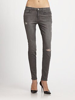 J Brand - Kingdom Distressed Skinny Jeans