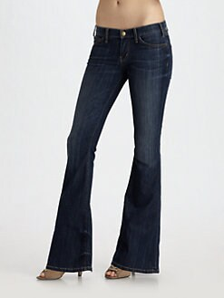Current/Elliott - The Low Rise Bell Jeans