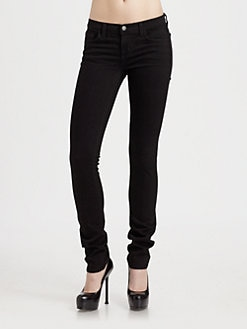 J Brand - Low Rise Skinny Jeans