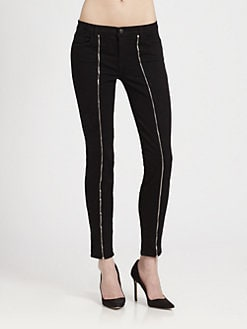 J Brand - Jewel Zip Skinny Jeans