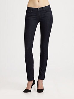 J Brand - Mid-Rise Pencil-Leg Jeans