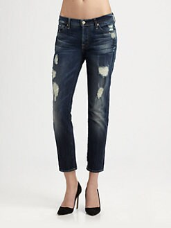 7 For All Mankind - Josefina Cropped Jeans