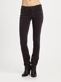J Brand - Low-Rise Corduroy Jeans