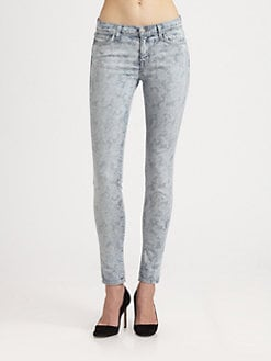 J Brand - 811 Printed Skinny Jeans
