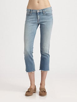 MOTHER - The Rascal Fray Cropped Jeans