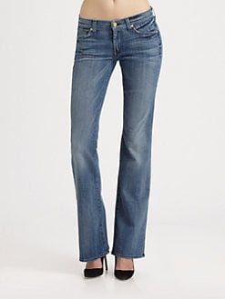 7 For All Mankind - A-Pocket Flare-Leg Jeans