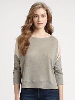 MiH Jeans - Silk-Trim Sweatshirt