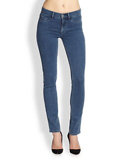 MiH Jeans - Bonn Polka-Dot Skinny Jeans