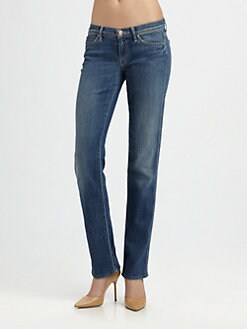 MOTHER - The Rascal Straight-Leg Jeans
