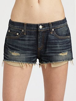 rag & bone/JEAN - Mila Cut-Off Jean Shorts