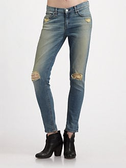 rag & bone/JEAN - The Dash Slouch Skinny Jeans