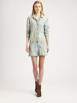 rag & bone/JEAN - The Reading Short Jumpsuit