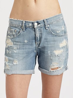 rag & bone/JEAN - The Boyfriend Denim Shorts