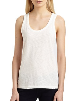 rag & bone/JEAN - Classic Cotton Tank