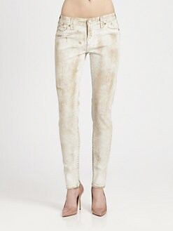 True Religion - Halle Skinny Denim Leggings
