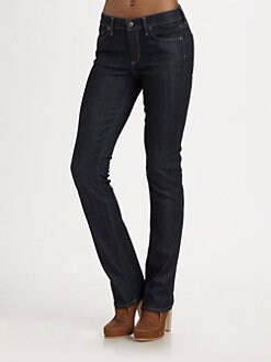 Citizens of Humanity - Elson Medium Rise Straight-Leg Jeans