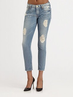 7 For All Mankind - Josefina Embellished Jeans