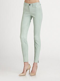 J Brand - Leather Skinny Pants