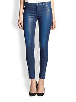 J Brand - 620 Mid-Rise Super Skinny Stocking Jeans
