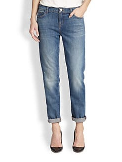J Brand - Jake Slim-Fit Boyfriend Jeans
