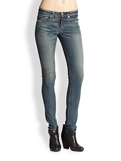 rag & bone/JEAN - The High-Rise Skinny Jeans/Augusta