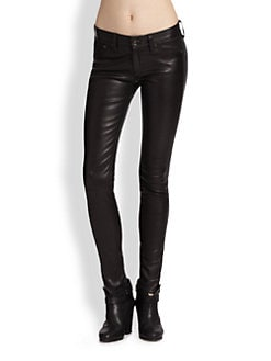 rag & bone/JEAN - The Leather Skinny Jeans