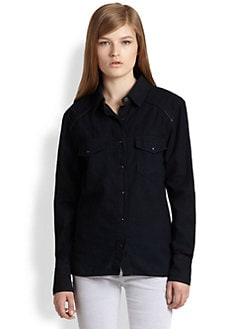 rag & bone/JEAN - The Western Shirt/Midnight Pop