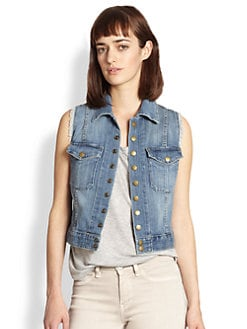 Current/Elliott - Denim Vest