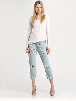 AG Adriano Goldschmied - The Piper Cropped Jeans