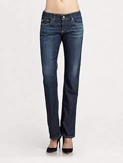 AG Adriano Goldschmied - Tomboy Straight-Leg Jeans