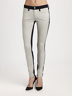 Genetic Denim - The Shya Contrast Skinny Jeans