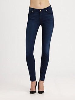 7 For All Mankind - The Mid-Rise Skinny Jeans