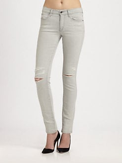Joe's - Zeina Distressed Skinny Jeans