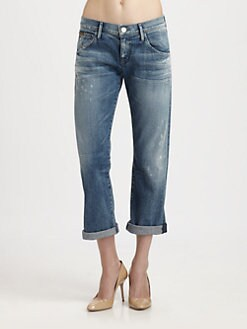 Goldsign - Ruby Boyfriend Cropped Jeans