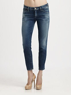 Goldsign - Glam Cropped Jeans