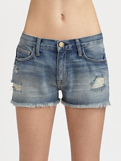 Current/Elliott - The Boyfriend Cut-Off Shorts
