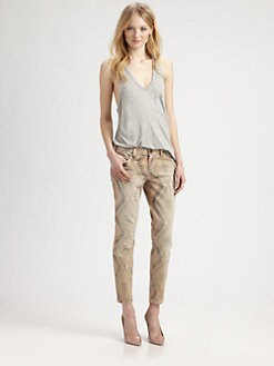 Current/Elliott - The Stiletto Printed Jeans
