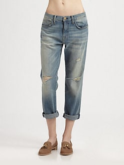 Current/Elliott - The Boyfriend Distressed Jeans